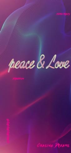 爱与和平手机壁纸