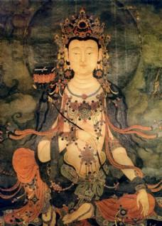 法海寺壁画-普贤菩萨