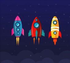 太空火箭收集