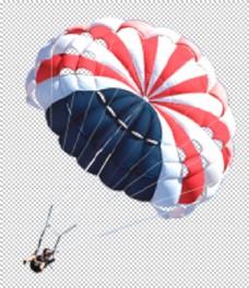 热气球降落伞人物合成海报素材