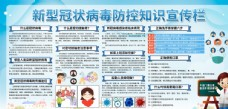 疫情防控公益宣傳展板素材