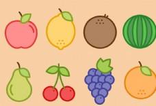 矢量果蔬素材