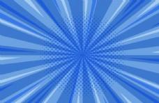 蓝白线条背景