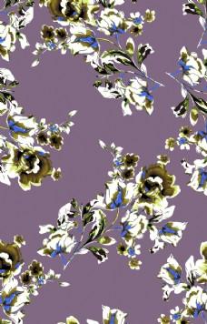 服裝 葉子 花朵 白花 循環花