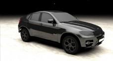 小轿车模型