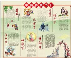 传统节日  cdr  中国元素