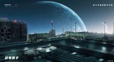 PS+C4D宇宙世界源文件下载