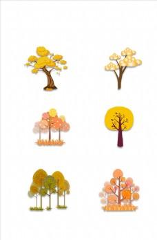 秋季树木素材