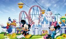 迪士尼乐园卡通儿童米老鼠