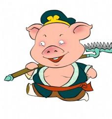 猪八戒卡通造型