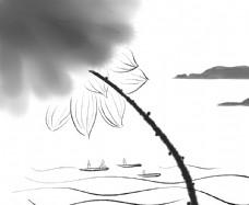 海上生莲图片