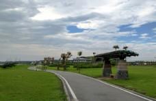 台湾七星潭自行车步道