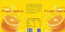 橙汁易拉罐包装