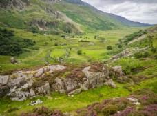 中世紀田園風景攝影圖