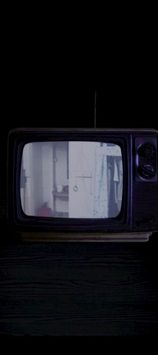 黑白電視機