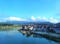 濯水古镇的清晨图片