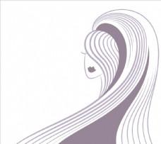女人长头发