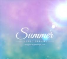 夏梦背景图片