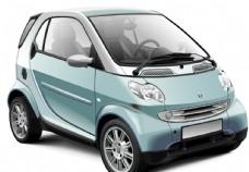 汽车能源车环保轿车素材