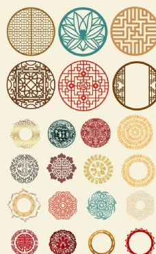 中国风装饰花边素材
