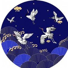 中国风  飞鹤