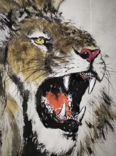寇中天 狮子