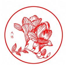 中国传统二十四节气剪纸之大寒