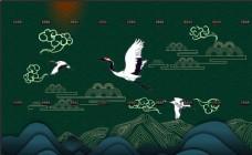 中国风   国风 飞鹤