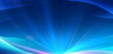 科技蓝背景 会议展板
