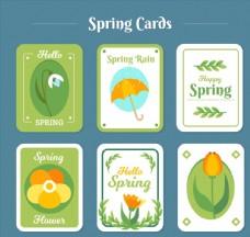 圆角春季卡片图片