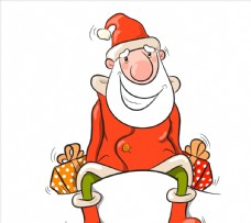 圣诞老人礼物图片