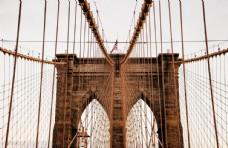 大桥铁架桥复古建筑背景素材
