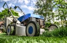除草机草坪机器夏季背景素材