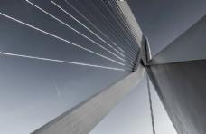 大桥建筑地标背景素材