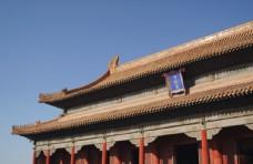 故宮宮殿旅游景點背景素材圖片