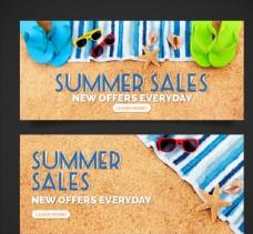 夏季沙滩销售图片