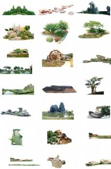公园建筑素材图片