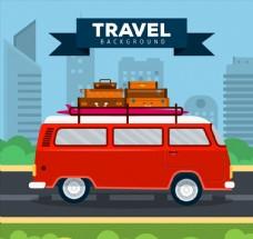 旅行度假面包车图片