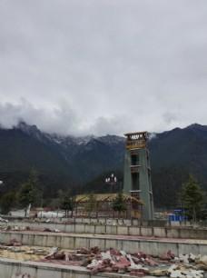 大山山村建筑图片