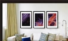 客厅挂画图片