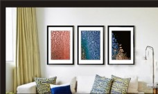 卧室挂画图片