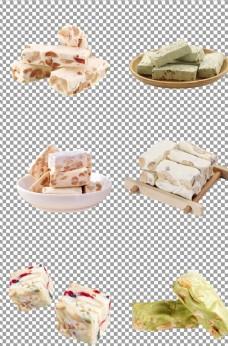 烘焙雪花酥牛轧糖图片