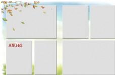 相册边框设计模板图片