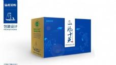 高端风干鱼特产包装盒子源文件图片