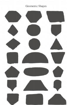 墨迹几何图形图片