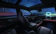 奥迪SUV Q8上市内饰素材图片