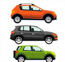 彩色时尚轿车图片