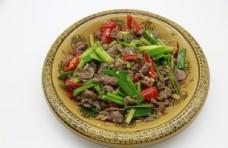 芹菜炒牛肉图片