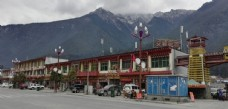 大山小镇建筑风景图片