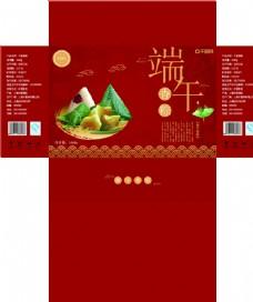 中国风端午节粽子礼品盒包装设计图片